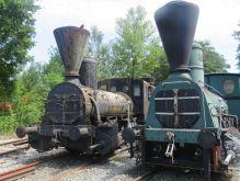 alte Dampflokomotiven