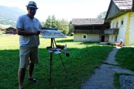 IWS - Plein Air Tiroler Bauernhöfe