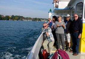 Bootsfahrt Attersee