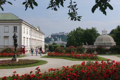 Schloss Mirabell Rosengarten Salzburg